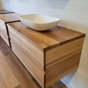 Blackbutt Timber Vanity Unit Melbourne