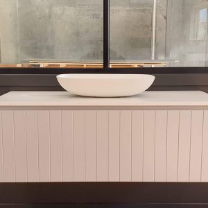 Panelled Timber Vanity Melbourne