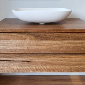 Spotted Gum Timber Vanity Melbourne