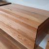 messmate timber vanity closed