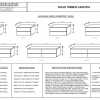 solid timber vanities specifications
