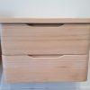whitewashed oak white timber